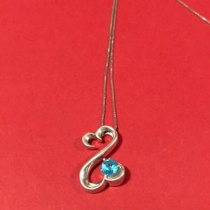 Kay Jeweler Jane Seymour open heart necklace